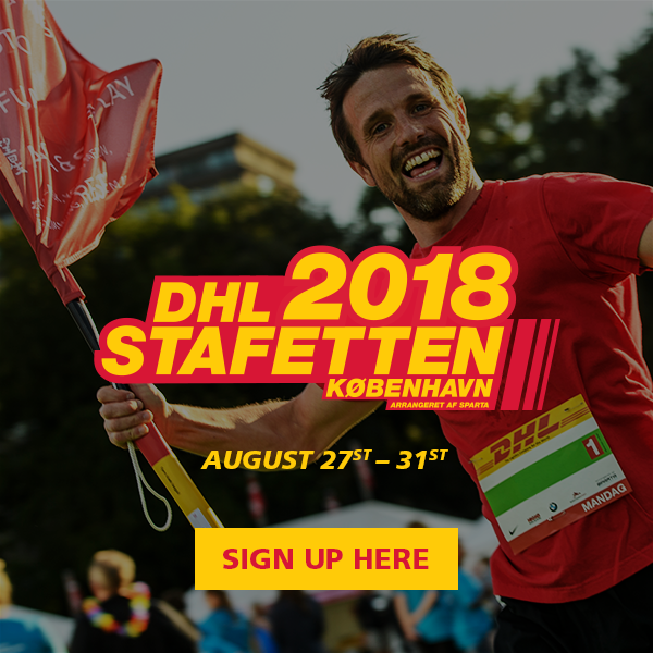 Sign up for DHL Stafetten company relay 2018