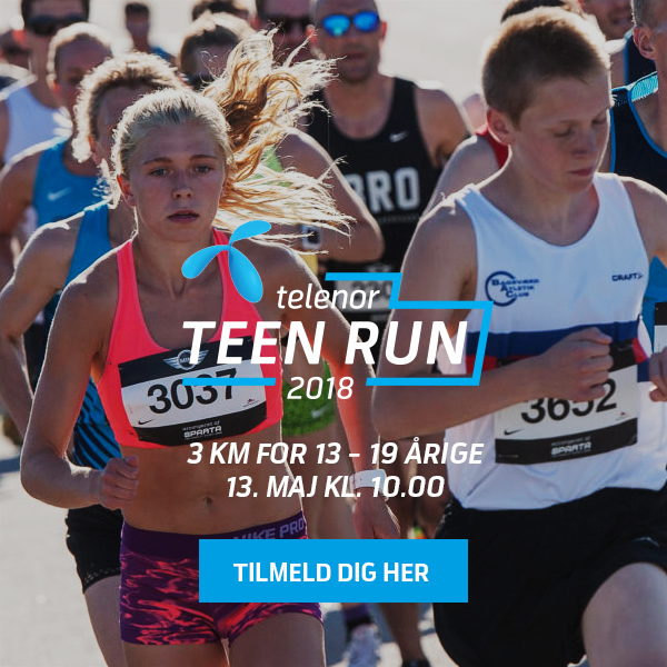 Telenor Teen Run – Løb 3 km
