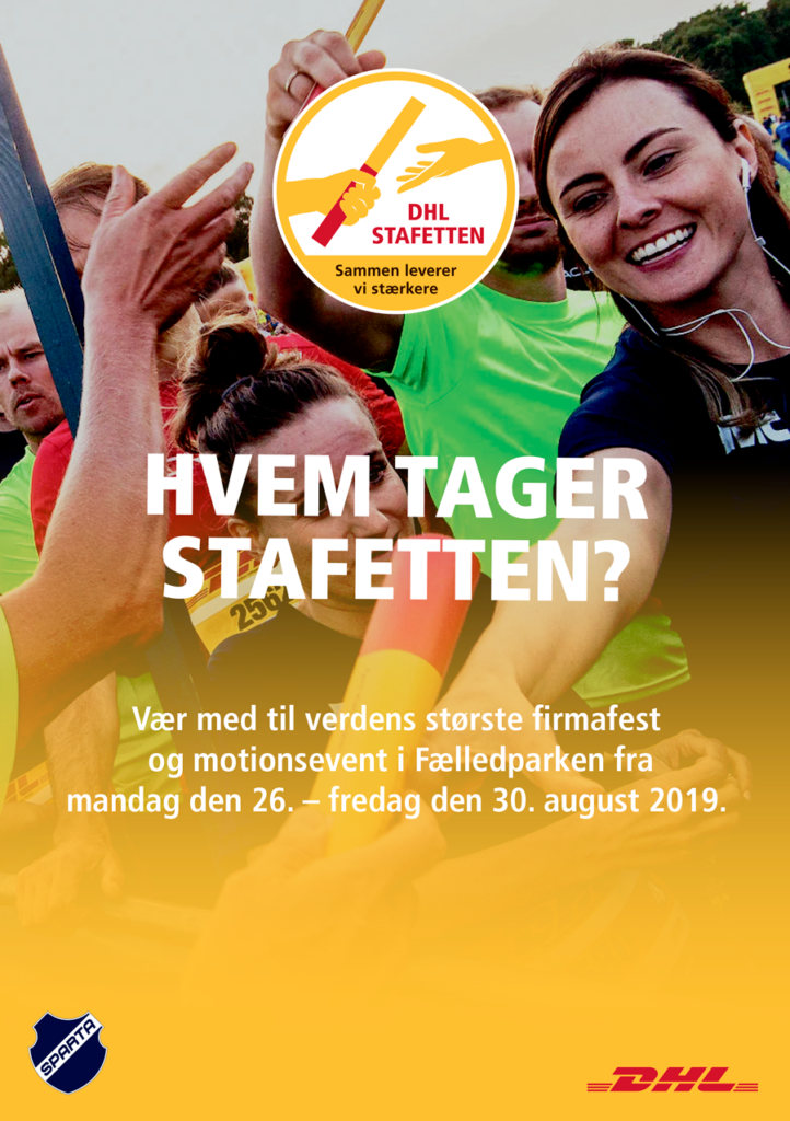 Download brochure for DHL Stafetten København 2019